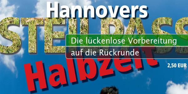 Hannovers Steilpass - Halbzeit