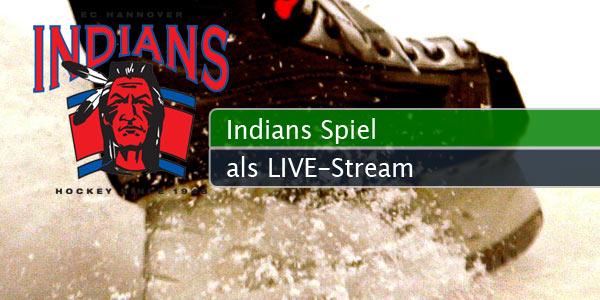 Ec hannover indians spiele als live stream mit vodafone auf handy
