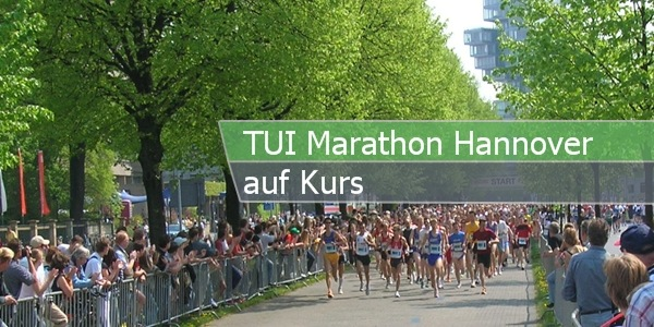 TUI Marathon Hannover auf Kurs